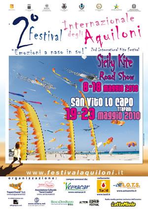 MAnifesto 2° Festival Internazionale degli Aquiloni